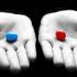 pastilla-roja-y-azul